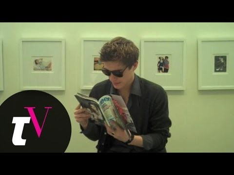 Xavier Samuel's Teen Vogue Photo Shoot Behind-the-Scenes Video