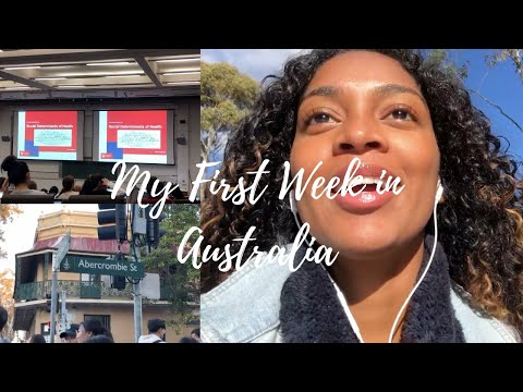 First Week In Australia | Study Abroad