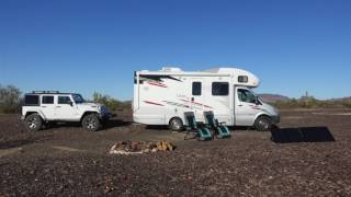 RV living in Quartzsite, AZ - Free 14 day BLM Camping, Our Thoughts and Finds.