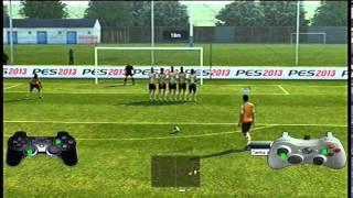 Como cobrar tiros libres PES 2013 Trucos, jugadas Parte 3 -Tutorial Pro Evolution Soccer  pes 13