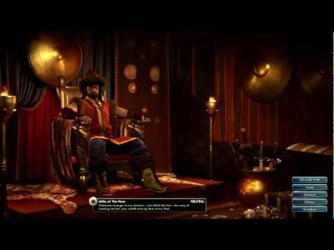 Civilization V Leader | Attila of the Huns
