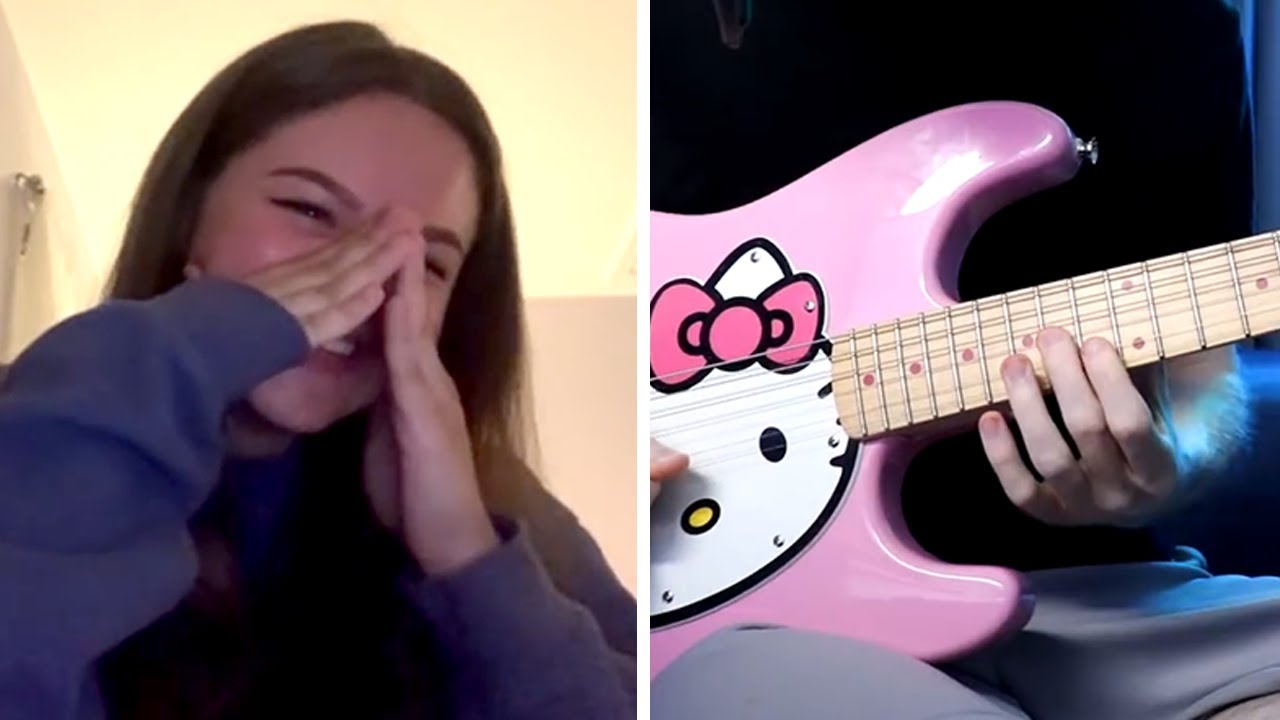 Guitarra en OMEGLE