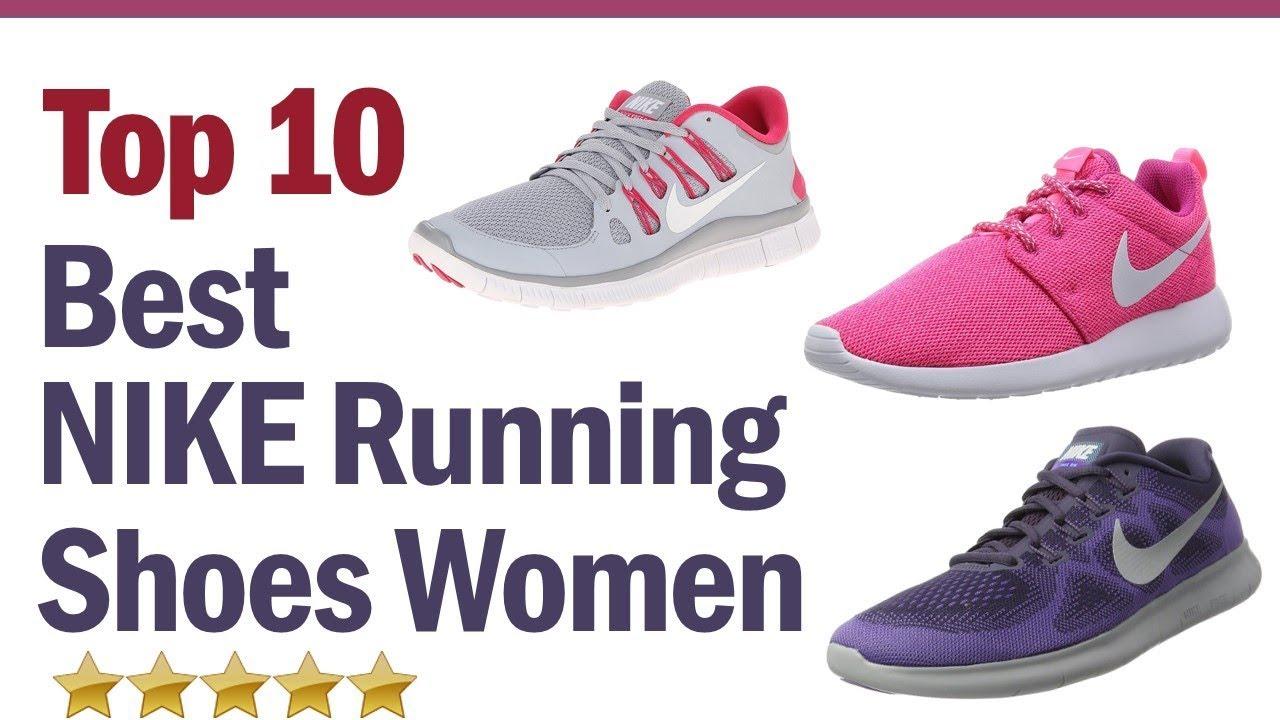 top nike running shoes womens