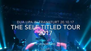 DUA LIPA IN FRANKFURT | 20.10.2017 The Self titled Tour| Batschkapp