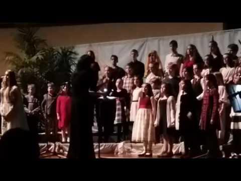 OAKS Christmas program Christmas in Egypt 4--ending song: It's about the Cross
