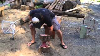 Organic Weights: Making Dumbbells