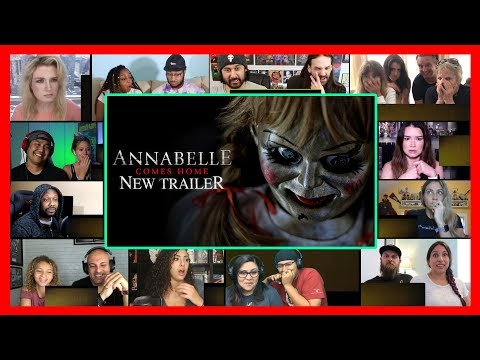 ANNABELLE COMES HOME - Official Trailer 2 REACTIONS MASHUP
