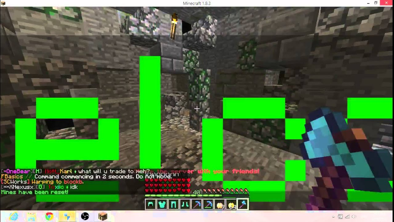 Minecraft Cracked Op Prison Server With Op Kits 1.8 - YouTube
