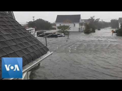 Hurricane Dorian Floods Homes in the Carolinas as it Weakens to Category-1 Storm