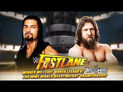 Roman Reigns vs Daniel Bryan Especial FastLane 1/3    En Español Latino
