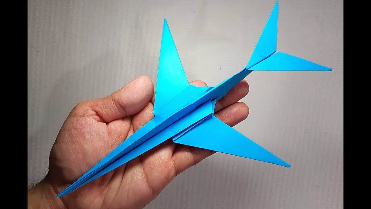 Origami Airplane Instructions | Free Printable Papercraft Templates | 720x1280