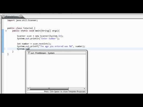 Intro to Java Programming 18 - printf