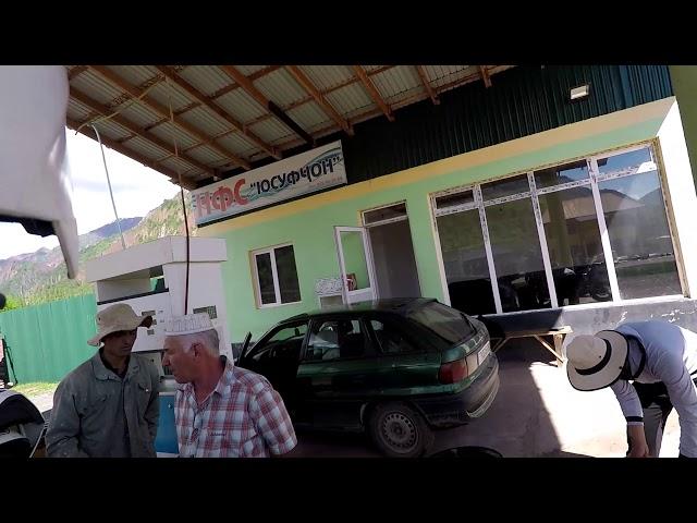 Wjazd motocyklem do Pamiru. Droga m41
