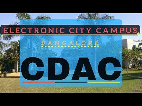 CDAC Electronics City Campus Bangalore