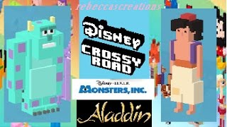 DISNEY CROSSY ROAD GAMEPLAY
