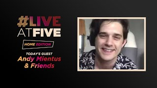 Broadway.com #liveatfive: Home Edition With Andy Mientus & Friends