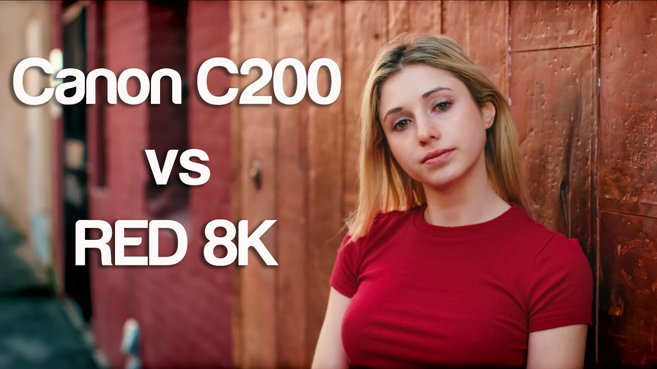 $7000 camera Canon C200 vs $40000 camera RED Helium 8K - why