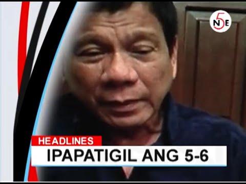Image result for Duterte against 5-6 lending