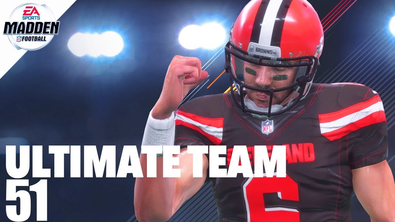 Madden 18 Ultimate Team - 99 Overall Baker Mayfield Ep.51