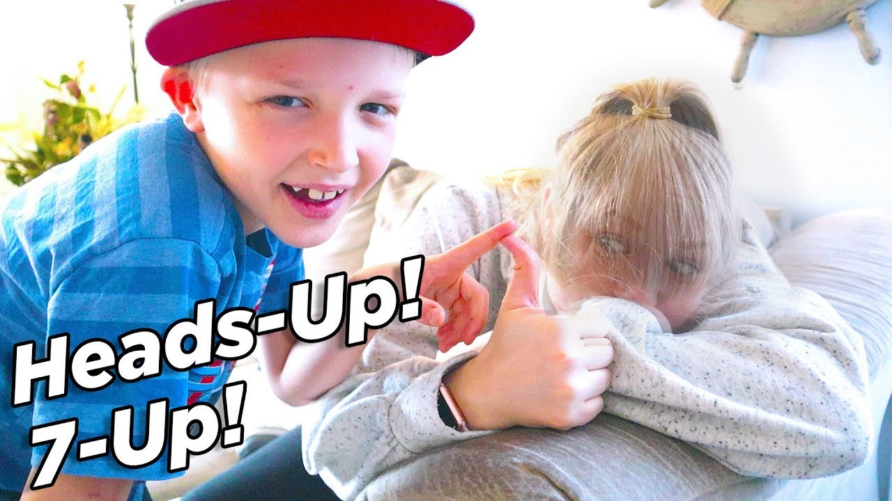 Heads Up 7 Up! Classic Kids Game! / The Beach House - YouTube