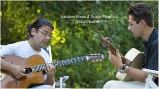 "Salvatore Russo & Simone Magliozzi - Jypsy Jazz Guitar Workshop - ""Out of Nowhere"""