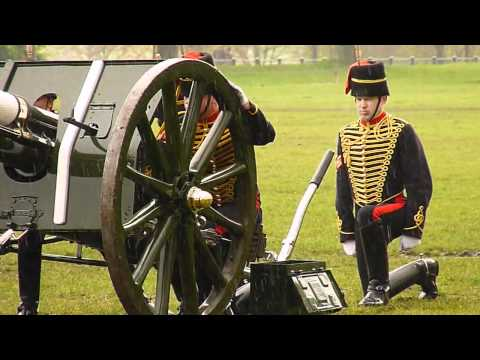 The Major Generals Inspection of Kings Troop Royal Horse Artillery