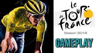Tour de France 2016 Gameplay (no commentary)
