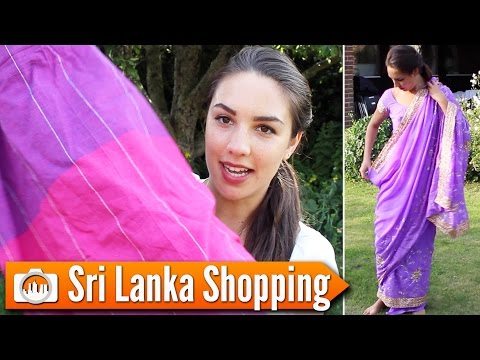 SRI LANKA SHOPPING | What I bought on my trip!