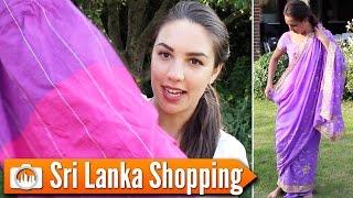 SRI LANKA SHOPPING | What I bought on my trip!