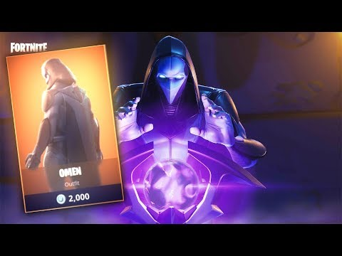 "FORTNITE ""OMEN"" SKIN IS BACK! July 18th Item Shop Update! (Fortnite Battle Royale)"