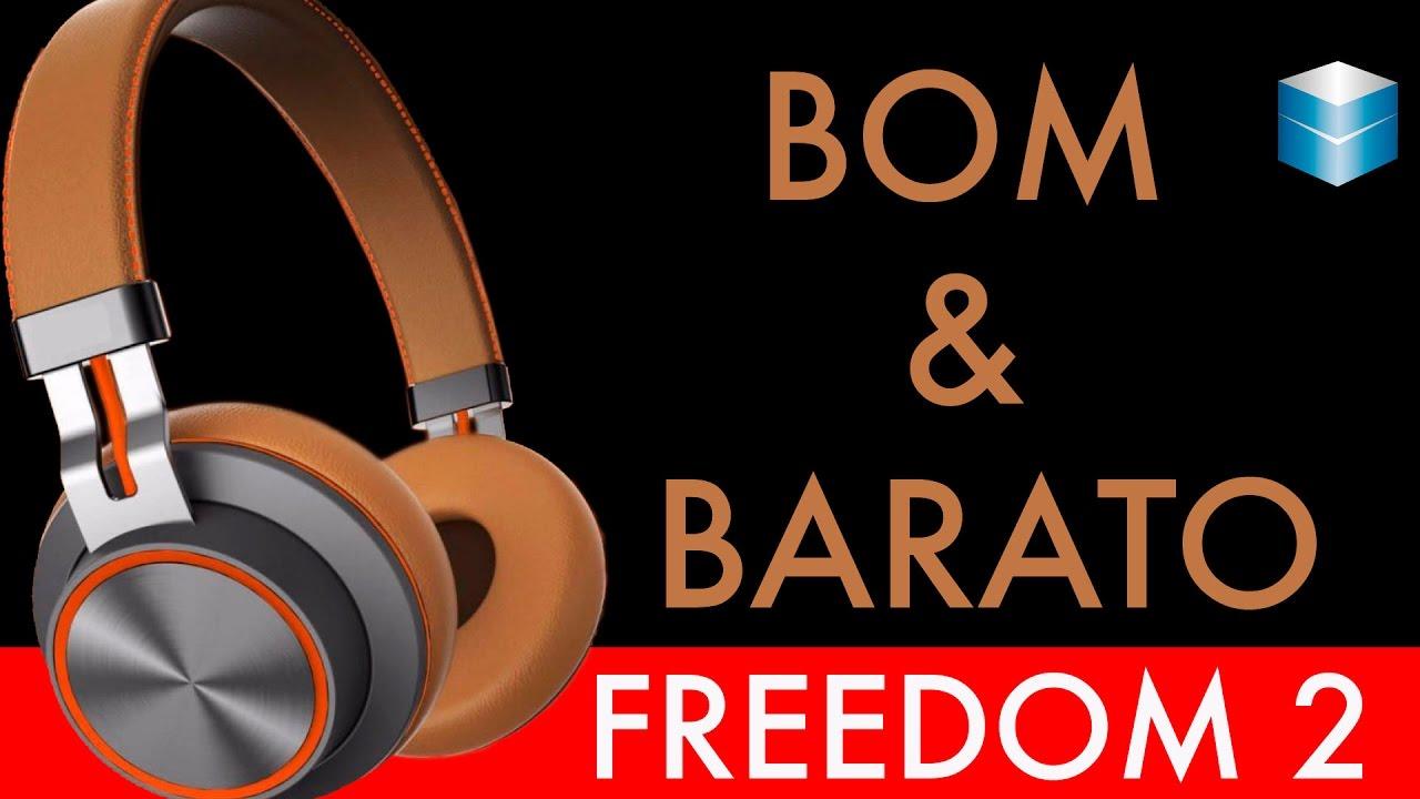 79cca9a84 UNBOXING FREEDOM 2 - O FONE QUE VAI FAZER VOCÊ SURTAR! - YouTube
