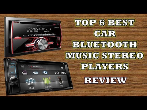 Best 6 Car Bluetooth Music Stereo Player  - Review Features & Price [Hindi]