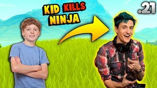 A Kid Kills Ninja & Screams But DrLupo ... | Fortnite Funny & WTF Moments #21