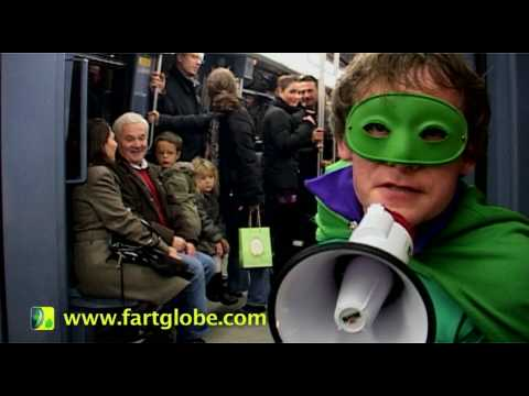 Mr Methane in Paris Subway - TOO SMELLY TO BE TRUE!