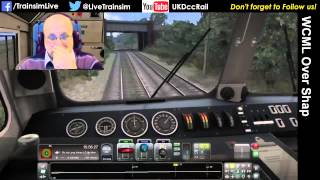 Train Simulator 2015 - Up Boat Train Part 2, WCML Over Shap