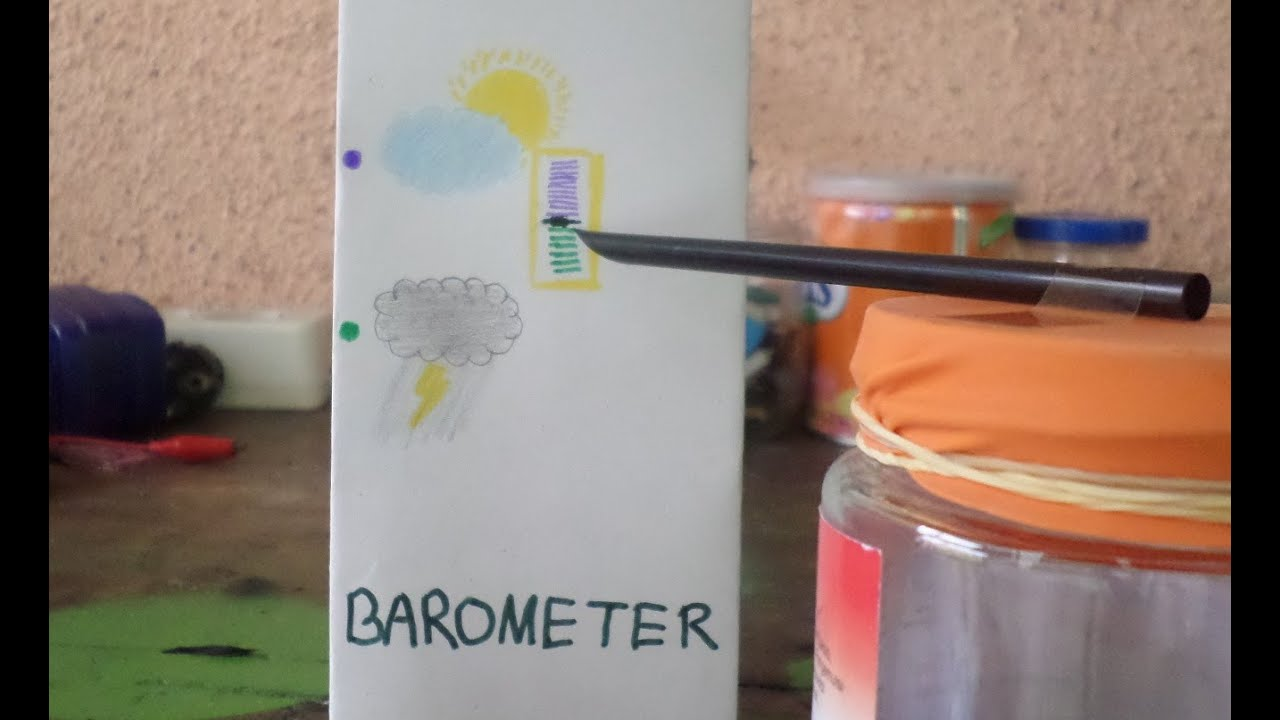 How To Make A Barometer Youtube Build Electronic Torricelli