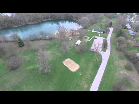 Tecumseh MI Drone Areial Flight
