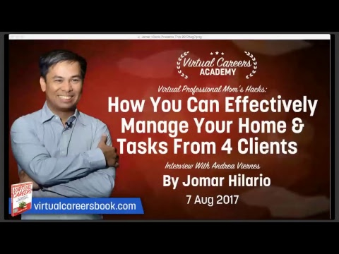 Virtual Assistants Training: How You Can Effectively Manage Your Home & Tasks From 4 Clients