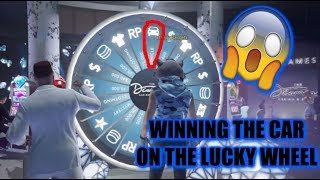 GTA 5 - How to Win the Car on the Lucky Wheel Every Time you Spin!