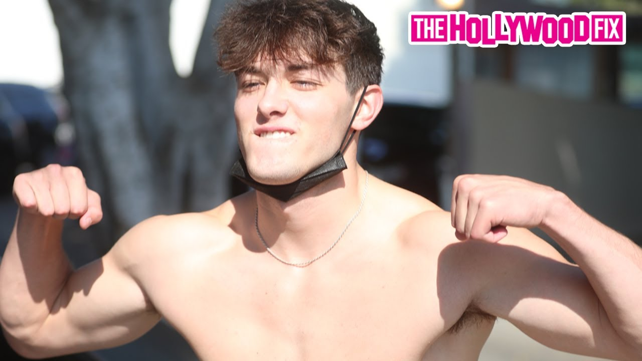 Griffin Johnson Makes Out With Dixie D'Amelio, Blocks Noah Beck & Disses Bryce Hall At DogPound Gym