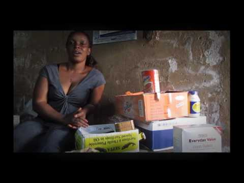 Sarah starts her business with a Microfinance loan