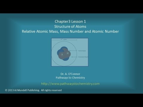 Preparatory Chemistry Atomic Mass Units, Atomic Number, and Mass Number
