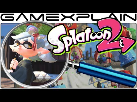 Splatoon 2 ANALYSIS - Single Player Trailer (Secrets & Hidden Details)