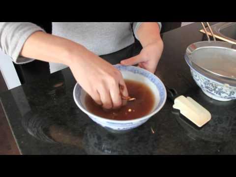 How to Make Tamarind Juice นำ้มะขามเปียก - HTK Tutorial