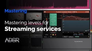 Mastering Levels for Streaming Services / LUFS metering scale