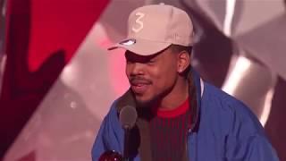 Chance The Rapper Acceptance Speech - Innovator Award | 2018 iHeartRadio Music Awards