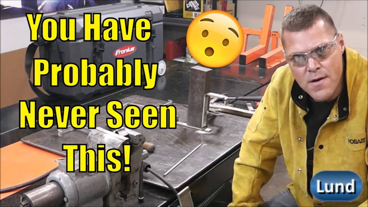 Stick Welding Stainless Steel - YouTube