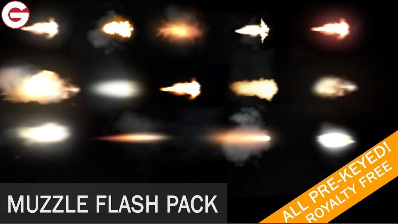 Muzzle flash stock footage free download