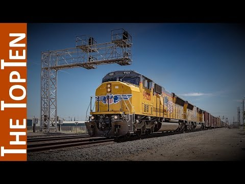 The Top Ten Most Powerful Diesel Locomotives in the World