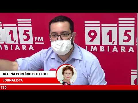 Entrevista presidente da câmara Raphael Rios sobre reunião com governador Romeu Zema